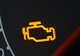 Faulty fuel injectors will cause check engine light to display
