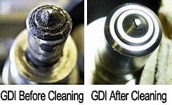 direct injection fuel injector cleaning