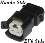 Honda to EV6 Fuel Injector Adapter